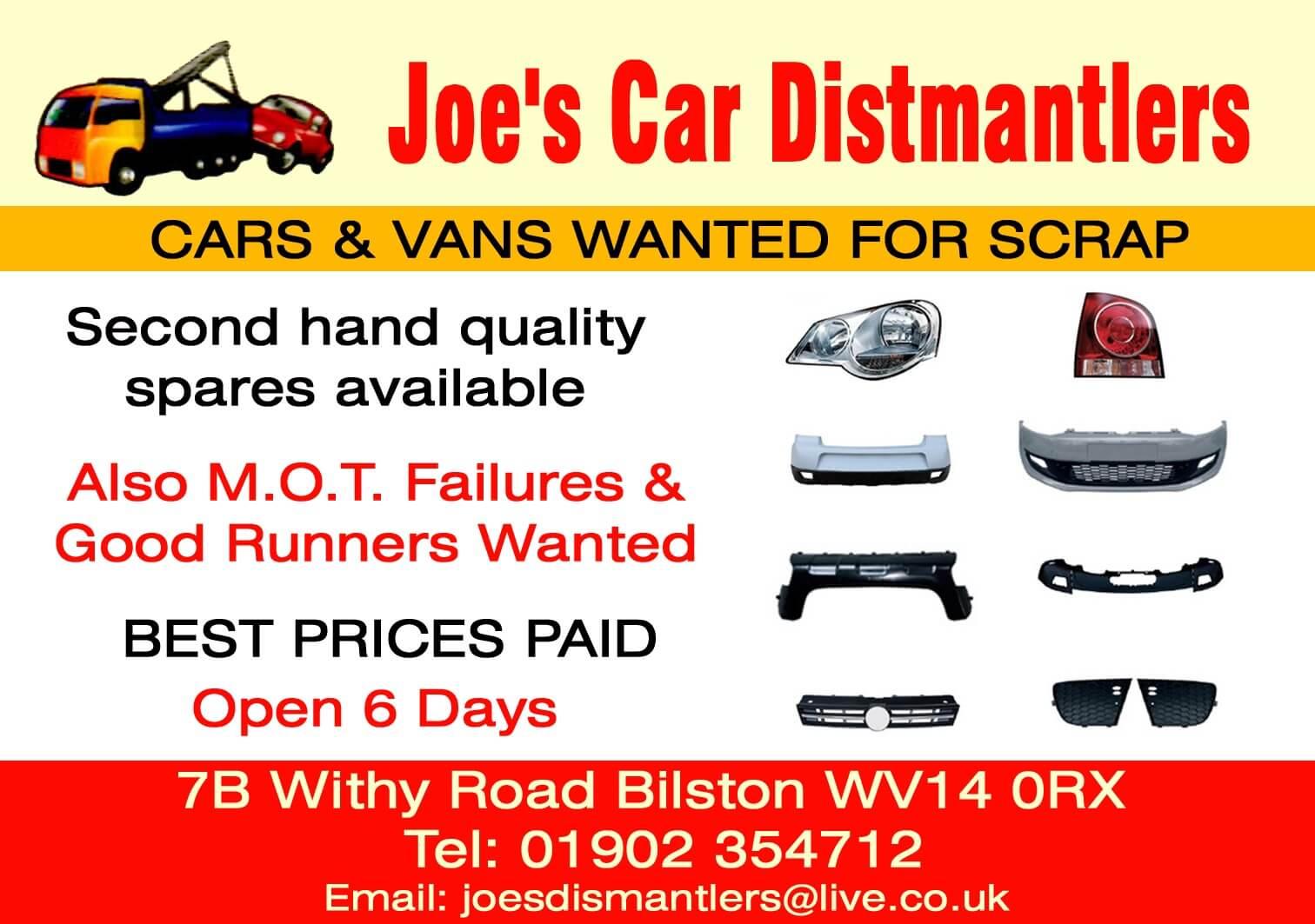 Joe S Car Dismantlers