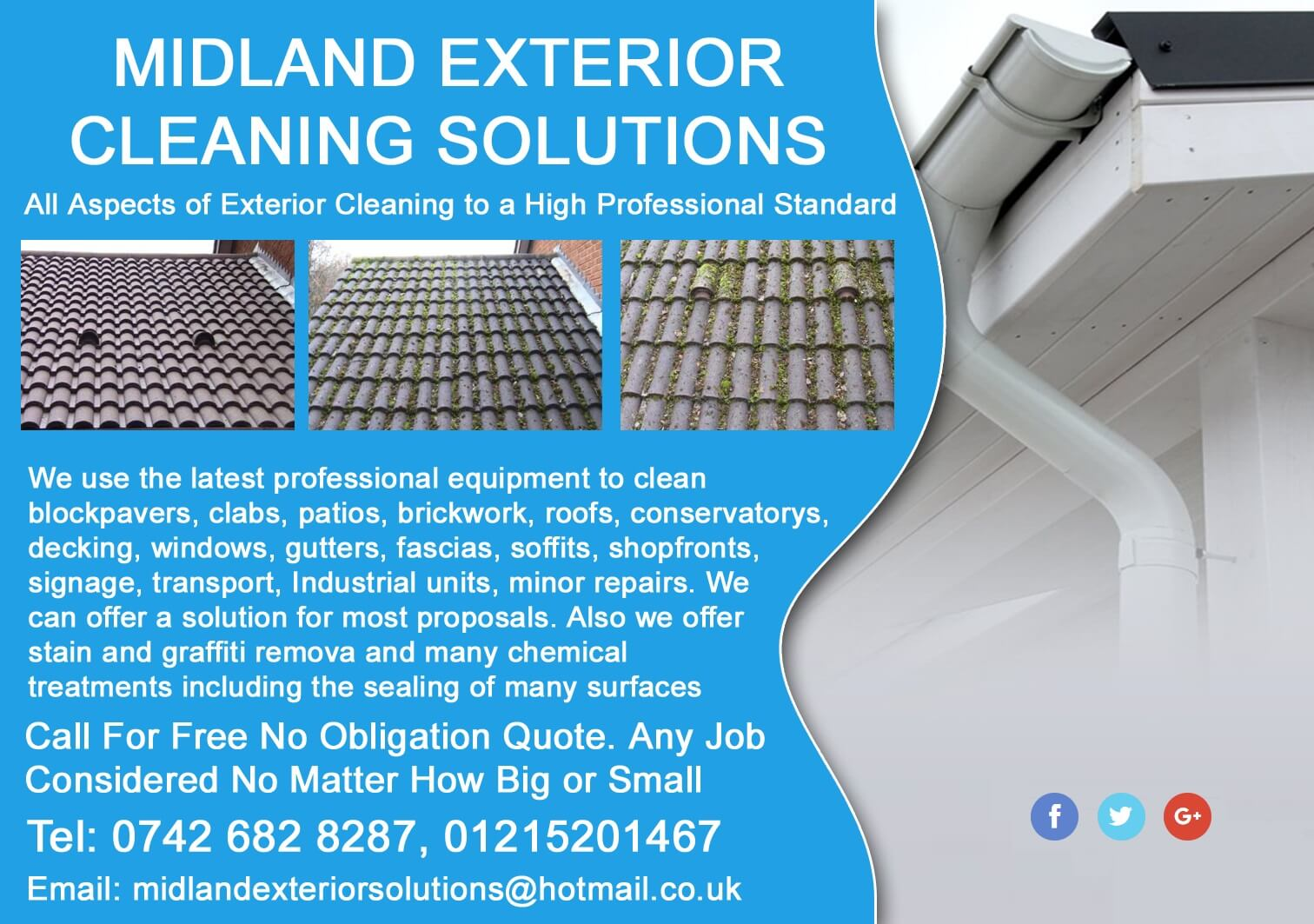 Midland Exterior Cleaning Solutions Singh Xpress Directory